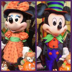 Wordless Wednesday: Halloween Mickey & Minnie - On the Go in MCO... disneybloggers.blogspot.com