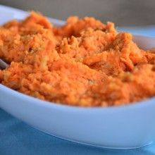 Mashed Sweet Potatoes and Cauliflower | Reluctant Entertainer