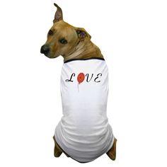 Cute Love Monogram Dog T-Shirt