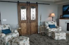Custom made wooden doors . Coastal Furniture, Trading Company, Big Fish, Wooden Doors, Divider, Room, Home Decor, Wood Doors, Bedroom