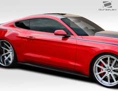 2015 2016 ford mustang gt concept duraflex side skirts sku 112233 for more