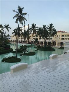 Iberostar Grand Hotel in BAVARO. View from the balcony