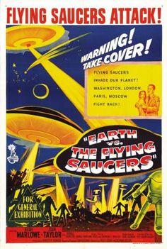 La tierra contra los platillos voladores  (1956)
