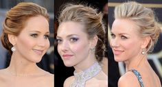 Oscars 2013 hair trends: The modern chignon #hairspiration