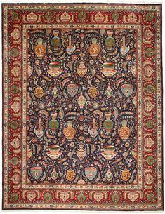 Tabriz 50 Raj rug MID20