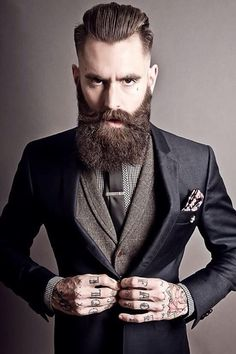 Perfect Beard and Hairstyle Looks For Men (5)
