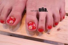 """コスモスネイル福岡のネイルサロンウーニャnailsalonuna #cosmos#nail#nailart""""rednail"""