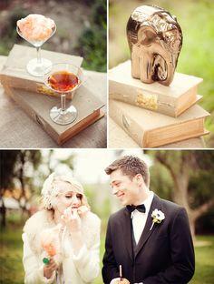 Water for Elephants Inspired Wedding