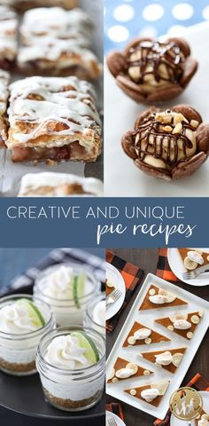 10  Creative and Unique Pie Recipes #unique #pie #dessert #recipe #easy #fruitpie #handpie #slabpie Pie Recipes, Baking Recipes, Dessert Sauces, Dessert Recipes, Trifle Desserts, Fall Desserts, My Favorite Food, Favorite Recipes, Trifle Pudding