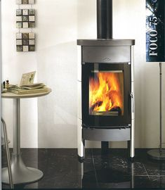 106 Best Wood Stoves Images Wood Burning Stoves Wood Stoves Wood - Contemporary-wood-stoves-designed-by-jacob-jensen