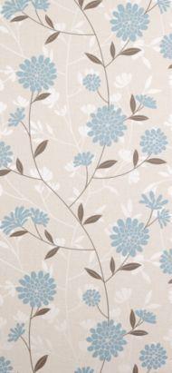 Graham & Brown - Superfresco Botanic Teal Floral Wallpaper