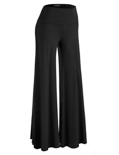 dd337d992bb6 MBJ Womens Comfy Chic Palazzo Lounge Pant - Made in USA. Women s Casual ...