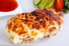 Lasagna, Food And Drink, Feta, Chicken, Ethnic Recipes, Easy Cooking, Cooking Recipes, Light Recipes, Healthy Recipes