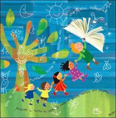 illustrazione per i bambini vittime della guerra. By irene mazza