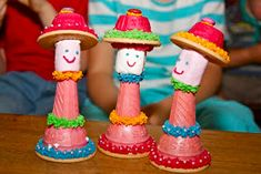 Crafts by Danika: Modepoppies en Hansworse Baking With Toddlers, Make And Sell, Marshmallow, Ice Cream, Parties, Decorations, Christmas Ornaments, Holiday Decor, Birthday