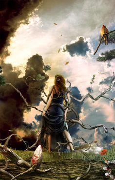 photo manipulation repinned by www.BlickeDeeler.de