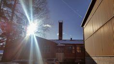 Aurinkoista kevättä Lohjan tehtaaltamme! :)
