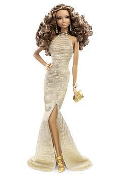 Red Carpet™ Barbie® - Gold Gown | Barbie Collector