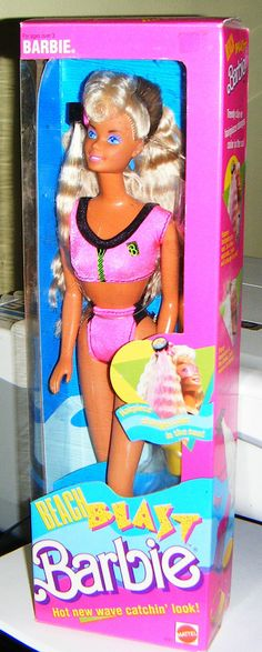 1989 BEACH BLAST BARBIE Doll