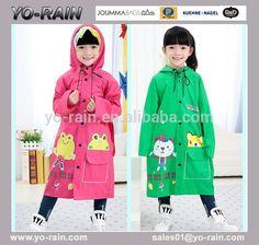 Look what I found Via Alibaba.com App: - children raincoat/kids rain coat/pvc…