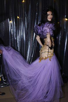 #VS Purple reigns. Especially when worn by #Model #SuiHe ღ   @victoriassecret angel Sui He - #vsangels   ツ   #VS All Access:   vsallaccess.victoriassecret.com