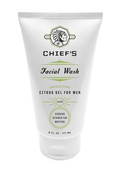 Designspiration — Chiefs Energizing Face Wash : Lovely Package . Curating the very best packaging design.