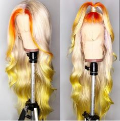 Cheap Human Hair Lace Wigs, Buy Directly from China Suppliers:Customized 613 Lace Front Wig 180 Density Pre Plucked Brazilian Body Wave Wig Human Hair Ombre Lace Frontal Wigs Remy Brown Ombre Hair, Ombre Hair Color, Blonde Color, My Hairstyle, Braided Hairstyles, Trendy Hairstyles, Korean Hairstyles, 2015 Hairstyles, Medium Hairstyles