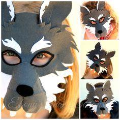 Plantilla De Mascara Lobo Para Imprimir Imagui Mascaras