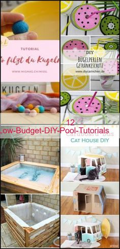 Diy Crafts Vintage, Diy Pool, Diy On A Budget, Budgeting, Diys, Tutorials, Check, Diy Swimming Pool, Bricolage