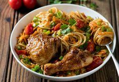 Chakalaka Chicken Pasta