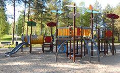 Otetaan hiekkalelut mukaan!: Suokukkapuiston leikkipaikka