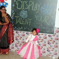 Tiny tot performing at Display Your Talent 2015 #SMIPS #StMarysInfantPreSchool #preschoolactivities #st_marys_infant_pre_school_jammu #preschoolsinjammu