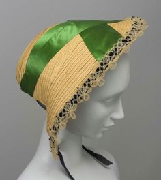 Bonnet, 1845, The Museum of Fine Arts, Boston