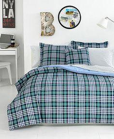 CLOSEOUT! Tommy Hilfiger Bedding, Richmond Plaid Comforter Sets