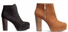 scarpe H&M 2017 catalogo: collezione scarpe H&M autunno inverno 2016 2017 composta da proposte uomo, donna, bambino e neonato...