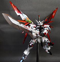 "MG 1/100 Destiny Gundam ""Titanium"" Custom Build - Gundam Kits Collection News and Reviews"