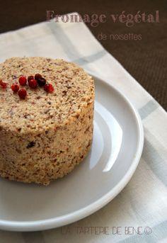 fromage végétal de noisettes - la tarterie de béné