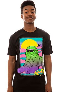 NEFF Tee Ancient in Black