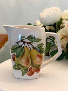 Tea Cakes, Milk Jug, High Tea, See Photo, New Zealand, Pottery, Crown, Ceramics, Doors