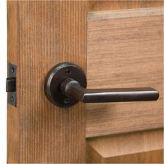 Danford Round Solid Bronze Lever Set - Privacy, Passage and Dummy