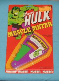 vintage-Kusan-THE-INCREDIBLE-HULK-MUSCLE-METER-MOC