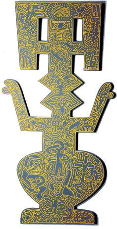Keith Haring: Milan 1984 Makes me feel Gombey-ish.
