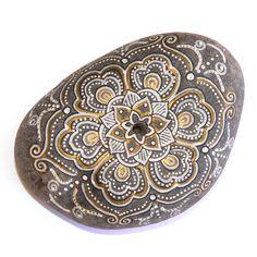 Portainciensos Blanco ~ La energía de las piedras más la vibración de los mandalas... by 'Nueve Pinceladas'