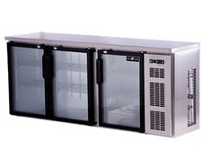 2 and 3-Door Back Bar or Mini Bar Coolers available.
