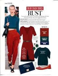 Image result for INSTYLE MAGAZINE FEBRUARY COLOR CRASH COURSE