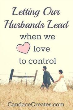 Submission can be one of the most difficult aspects of a Christian marriage, especially when we tend to be naturally controlling. Read this for inspiration and encouragement on letting our husbands lead! Prayers and how to pray Marriage Goals, Strong Marriage, Marriage And Family, Marriage Relationship, All Family, Happy Marriage, Marriage Advice, Fierce Marriage, Marriage Issues