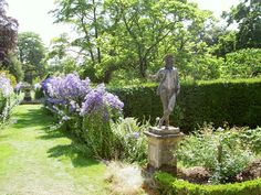 Adam & Eve Statues - Spetchley Park Gardens