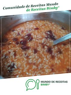 Oatmeal, Beans, Food And Drink, Rice, Anita, Breakfast, Recipies, Meal Recipes, Portuguese Recipes