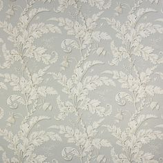 Colefax and Fowler Acanthus  Silver