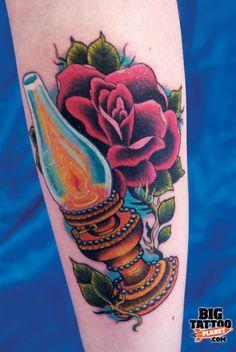 oil lamp tattoos   ... Tattoo Convention (2010) - Colour Tattoo   Big Tattoo Planet
